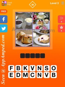 food pop level 3 - 38 answer