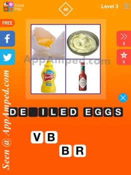 food pop level 3 - 48 answer