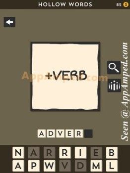 hollow words first set level 02 answer
