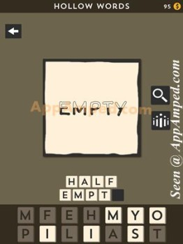 hollow words first set level 03 answer