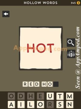 hollow words second set level 03 answer