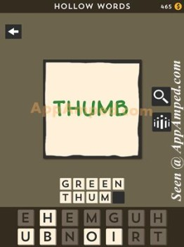 hollow words second set level 15 answer