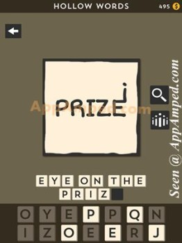 hollow words second set level 18 answer