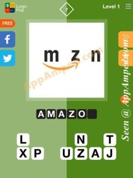 logo pop level 1 - 07 answer