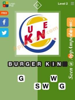 logo pop level 2 - 11 answer