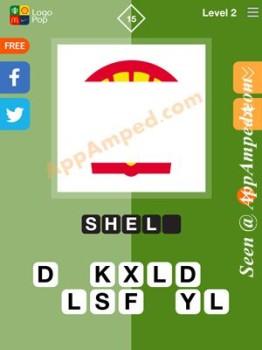logo pop level 2 - 15 answer