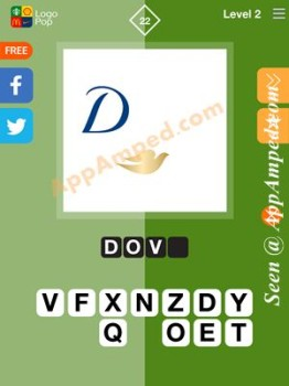 logo pop level 2 - 22 answer