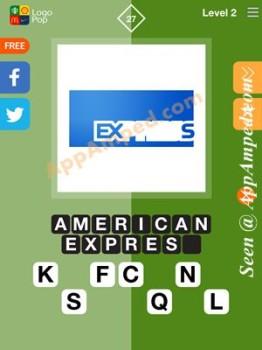 logo pop level 2 - 27 answer