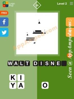 logo pop level 2 - 28 answer