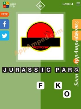 logo pop level 4 -53 answer