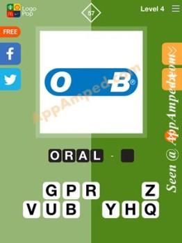 logo pop level 4 -57 answer