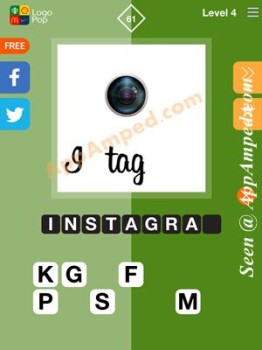 logo pop level 4 -61 answer