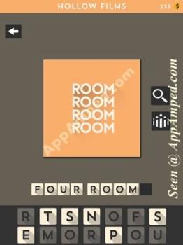 hollow films orange level 17 answer