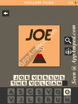 hollow films orange level 25 answer
