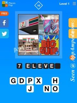 places pop level 1 - 10 answer