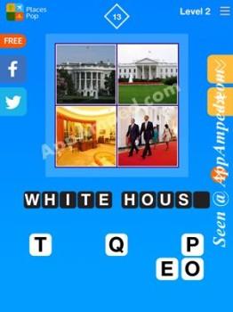 places pop level 2 - 13 answer