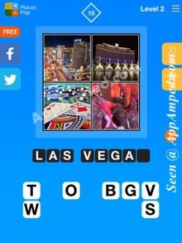 places pop level 2 - 15 answer