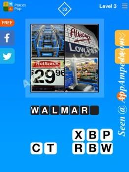 places pop level 3 - 33 answer