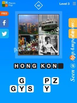 places pop level 3 - 43 answer