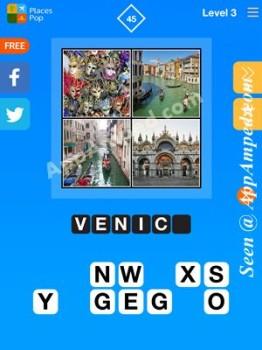 places pop level 3 - 45 answer