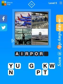 places pop level 5 - 71 answer