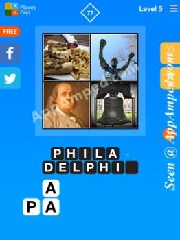 places pop level 5 - 77 answer