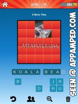 what animal level 30 answer