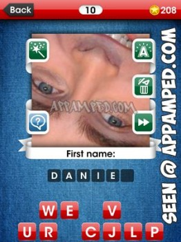 facemania answers level 10