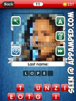 facemania answers level 11