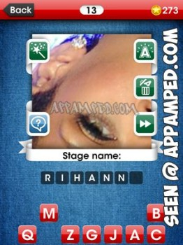 facemania answers level 13