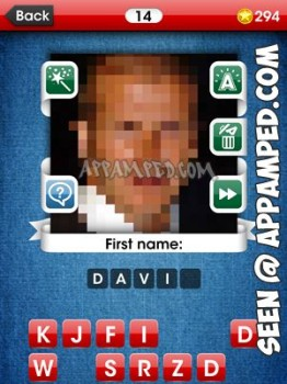 facemania answers level 14