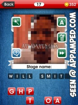 facemania answers level 17