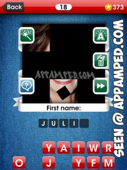facemania answers level 18