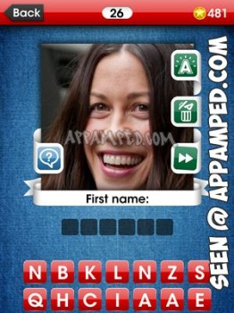 facemania answers level 26