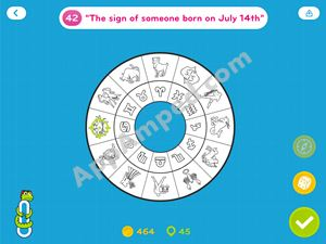 94 degrees answers level 42