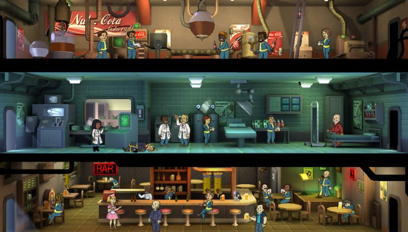 fallout shelter how to increase happiness