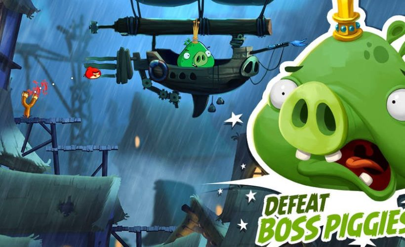 Angry birds 2 guide level 15 how to beat with three - Angry birds trio ...