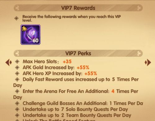AFK Arena VIP Ranks Guide: How to Increase VIP Level and