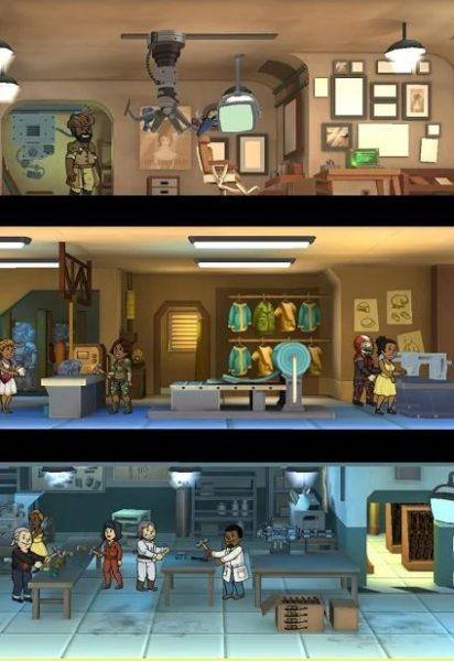 Keeping dwellers happy in Fallout Shelter