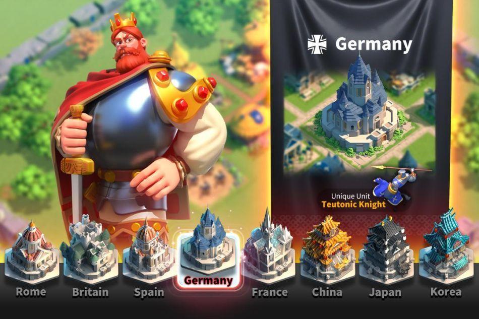 rise of kingdoms change device
