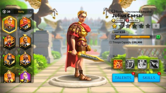 rise of kingdoms commanders