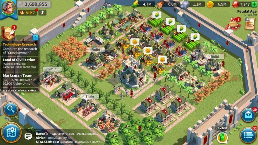 rise of kingdoms how to change servers