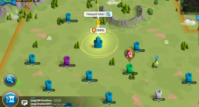 rise of kingdoms how to teleport to alliance territory 1