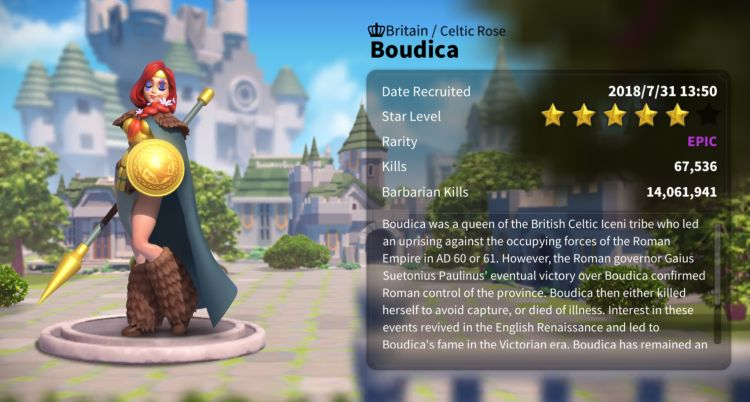 boudica overview