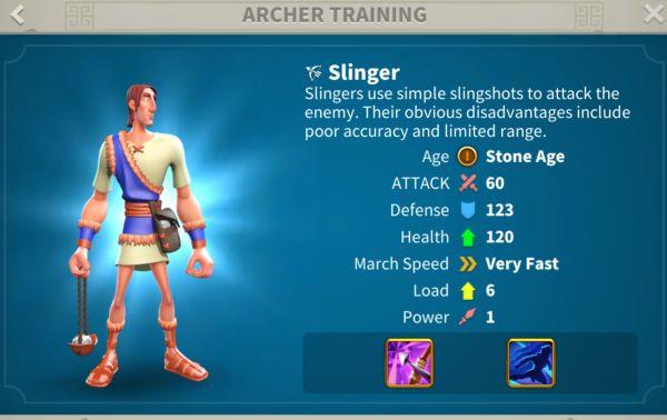 rise of kingdoms archers 1