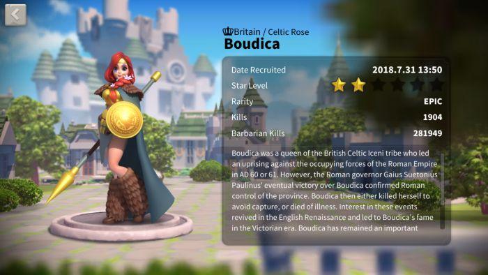 rise of kingdoms boudica build