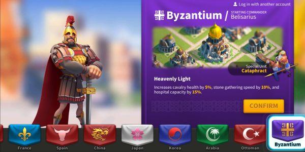 rise of kingdoms byzantium