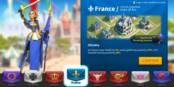 rise of kingdoms france