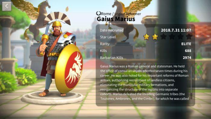 rise of kingdoms gaius marius