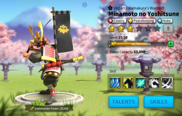 rise of kingdoms minamoto build